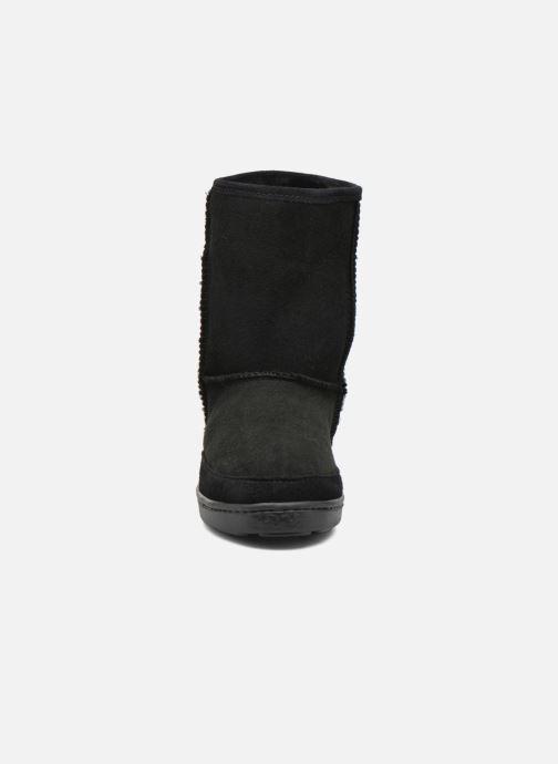 Chez Short Boots noir Pug Et Minnetonka W Sheepskin Boot Bottines zHdTHwxfq