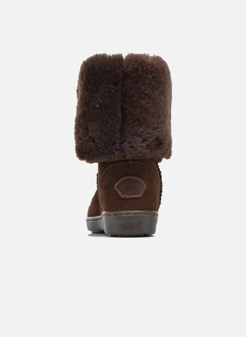 Pug Boot Tall Et W Chez marron Sheepskin Minnetonka Boots Bottines gUBwWPnWq