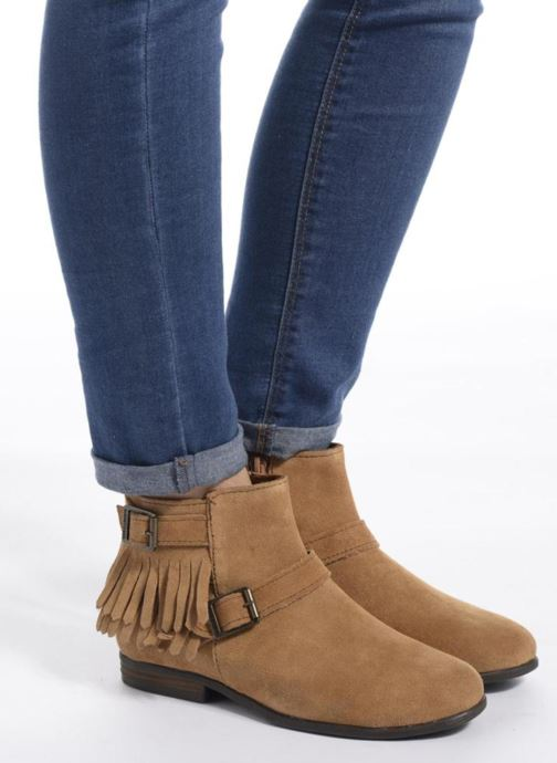 Bottines et boots Minnetonka Rancho Boot Marron vue bas / vue portée sac