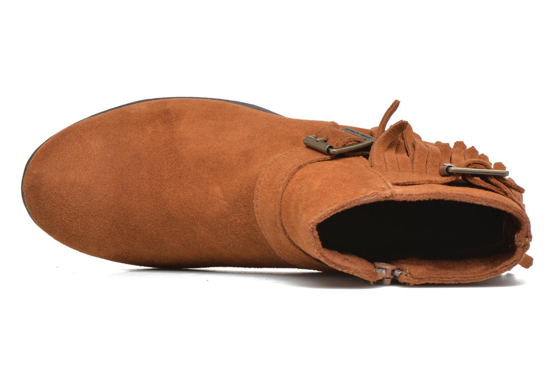 Stivaletti e tronchetti Minnetonka Rancho Boot Marrone immagine sinistra