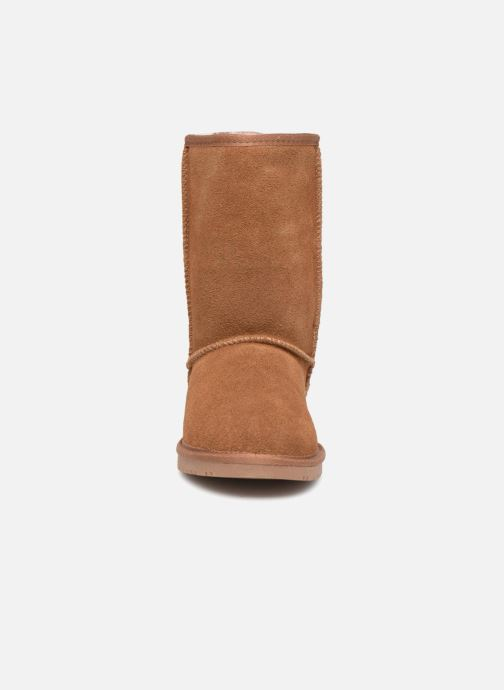Bottines et boots Minnetonka Olympia Boot Or et bronze vue portées chaussures
