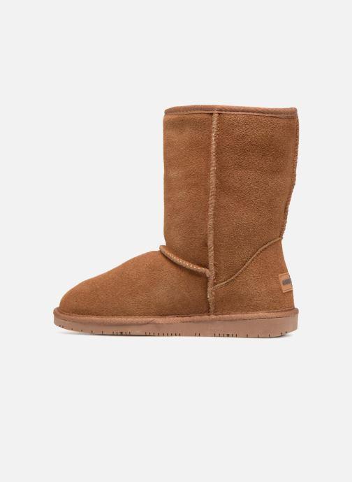 Bottines et boots Minnetonka Olympia Boot Or et bronze vue face