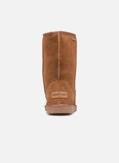 Bottines et boots Minnetonka Olympia Boot Or et bronze vue droite
