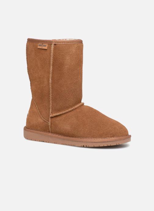 Bottines et boots Minnetonka Olympia Boot Or et bronze vue détail/paire