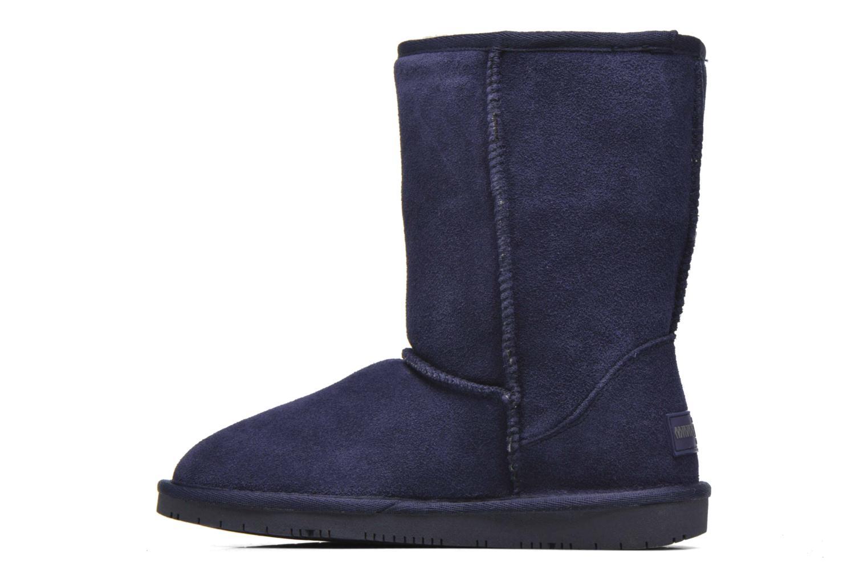 Stivaletti e tronchetti Minnetonka Olympia Boot Azzurro immagine frontale