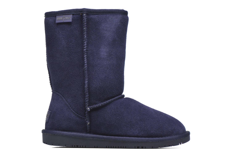 Stivaletti e tronchetti Minnetonka Olympia Boot Azzurro immagine posteriore