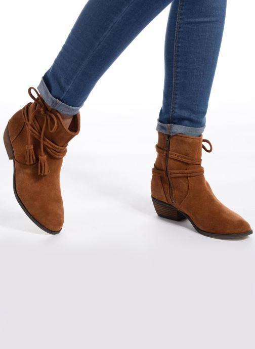 Bottines et boots Minnetonka Mesa Boot Noir vue bas / vue portée sac