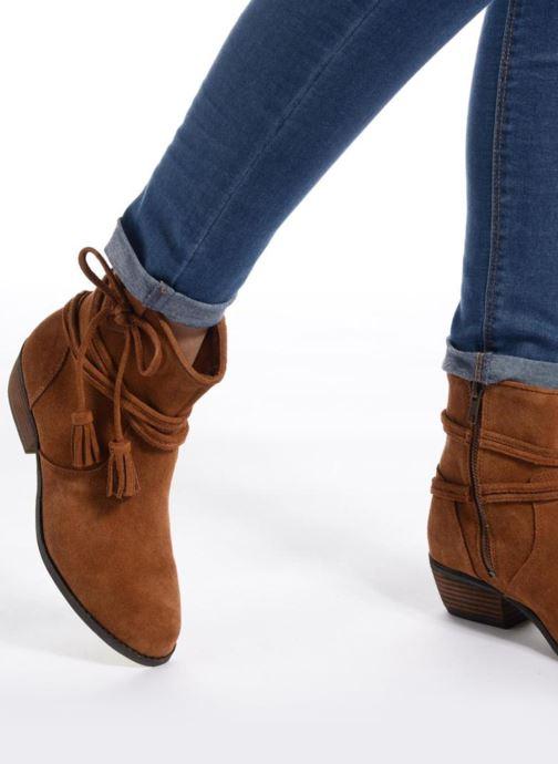 Bottines et boots Minnetonka Mesa Boot Marron vue bas / vue portée sac