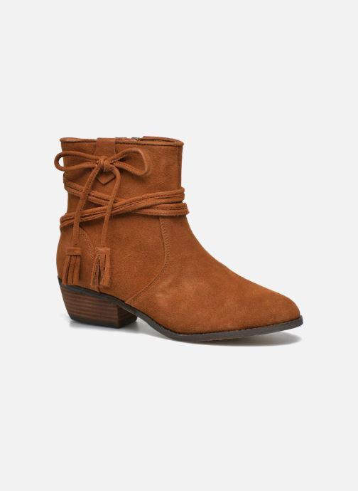 Bottines et boots Minnetonka Mesa Boot Marron vue détail/paire