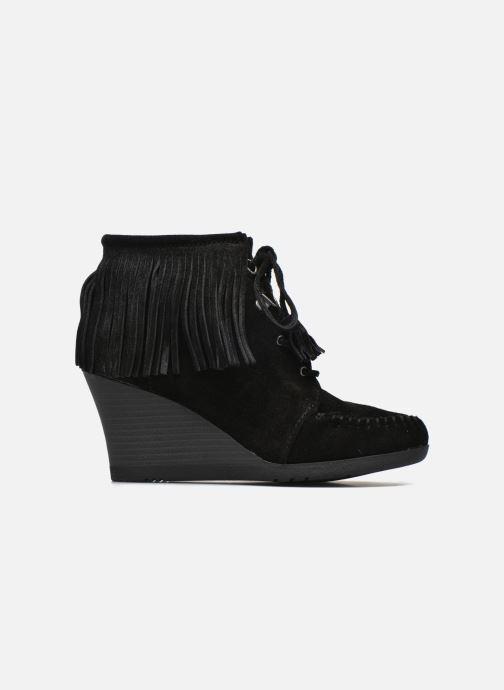 Boots Wedge Bottines up Ankle Et noir Boot Minnetonka Chez Fringe Lace 6OzRp