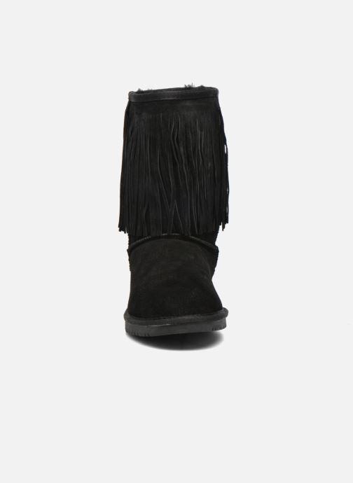 Stivaletti e tronchetti Minnetonka Hyland Boot Nero modello indossato