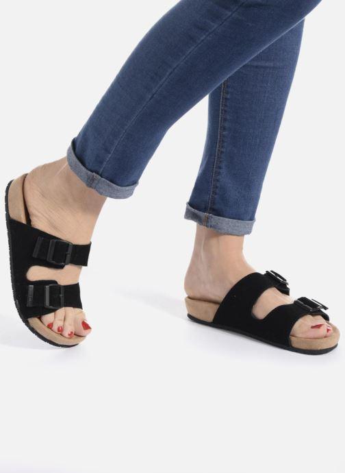 Wedges Minnetonka Gipsy Sandal Zwart onder