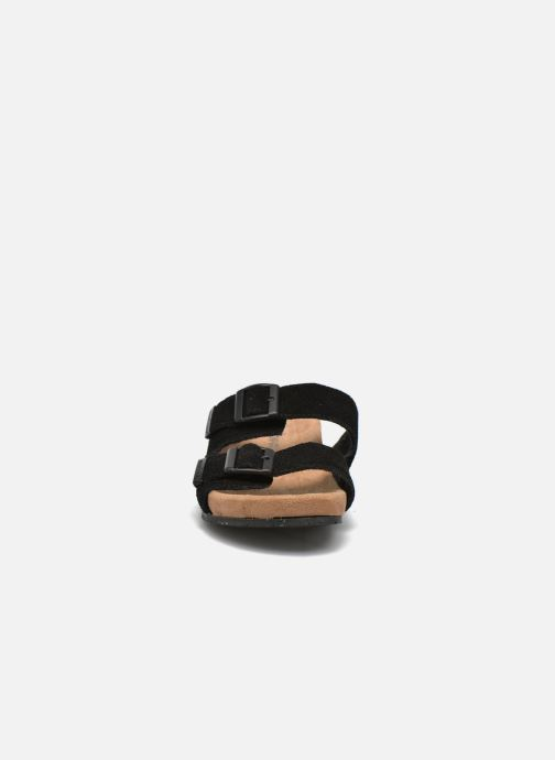 Wedges Minnetonka Gipsy Sandal Zwart model