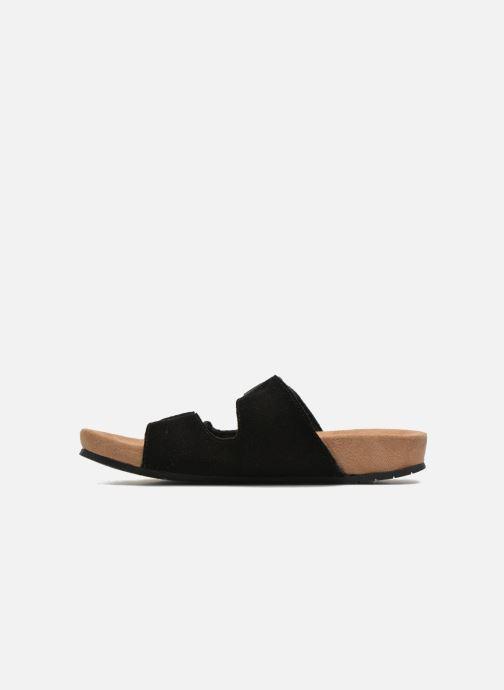 Wedges Minnetonka Gipsy Sandal Zwart voorkant