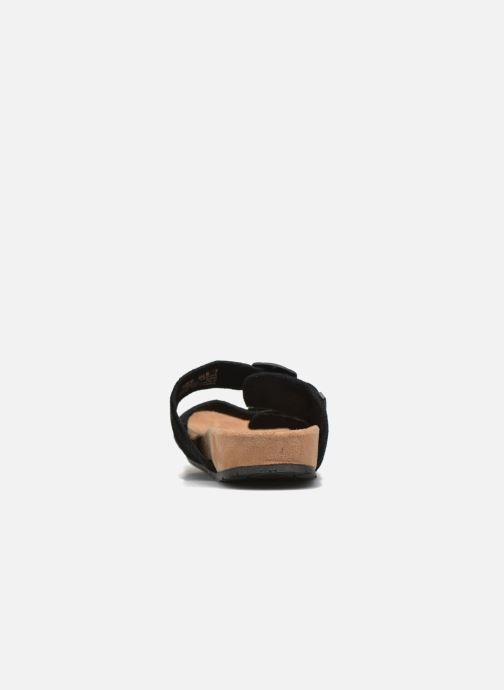 Wedges Minnetonka Gipsy Sandal Zwart rechts