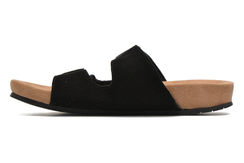 Zoccoli Minnetonka Gipsy Sandal Nero immagine frontale