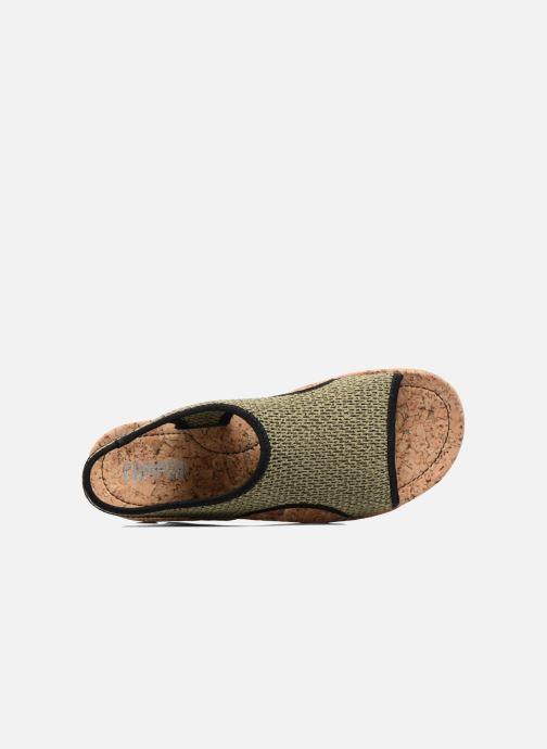 K200360 Camper Oruga Et Nu Sandales vert pieds Chez qq8w5rS