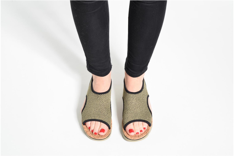 Sandales et nu-pieds Camper Oruga K200360 Vert vue bas / vue portée sac