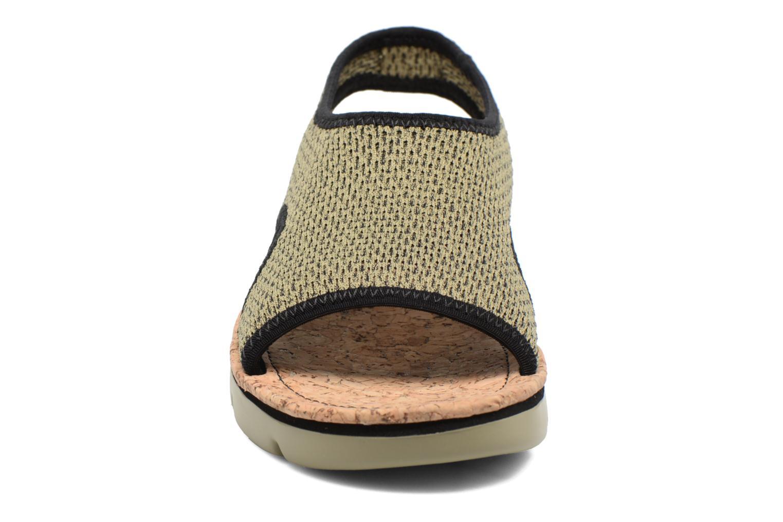 Sandales et nu-pieds Camper Oruga K200360 Vert vue portées chaussures