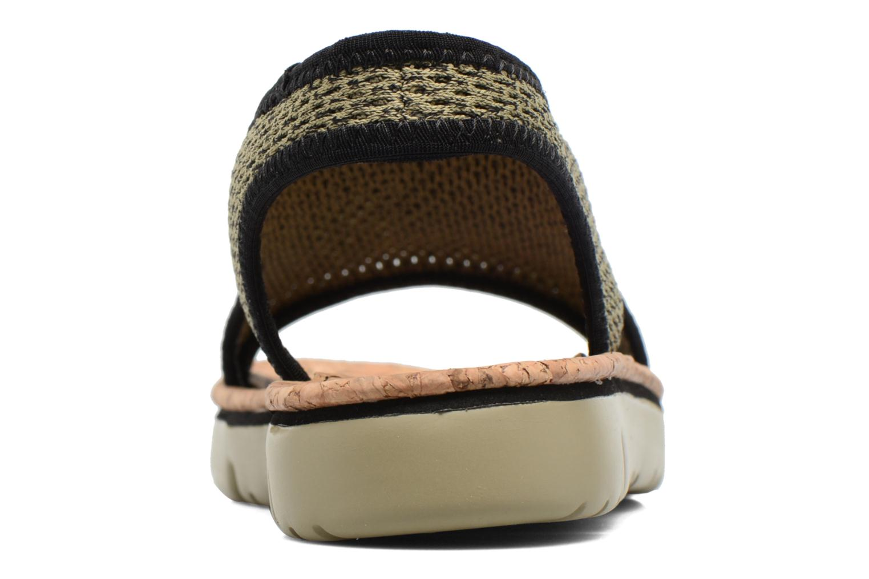 Sandales et nu-pieds Camper Oruga K200360 Vert vue droite