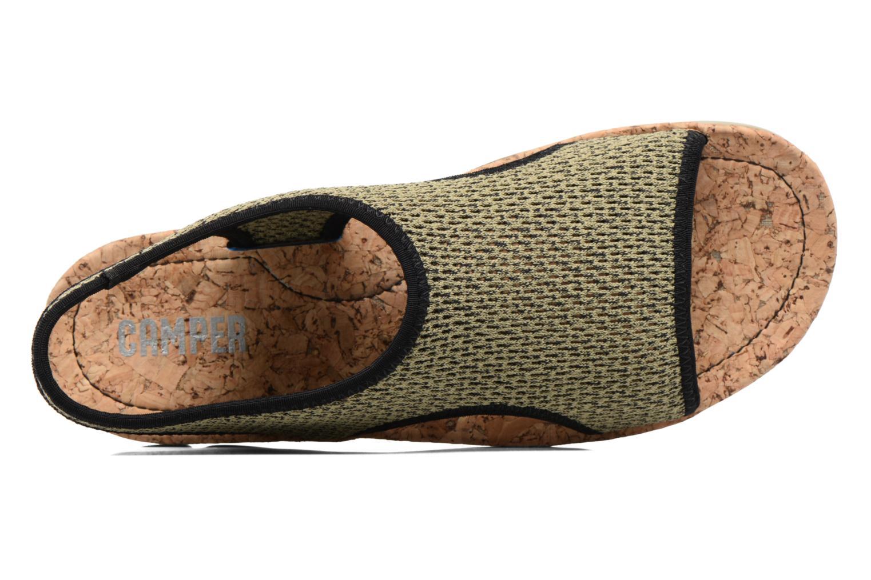 Sandales et nu-pieds Camper Oruga K200360 Vert vue gauche