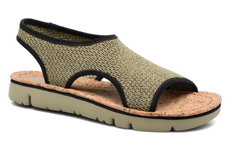 Sandales et nu-pieds Camper Oruga K200360 Vert vue détail/paire