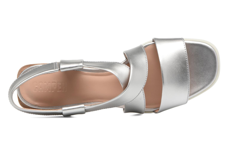 Sandali e scarpe aperte Camper Kobo K200328 Argento immagine sinistra