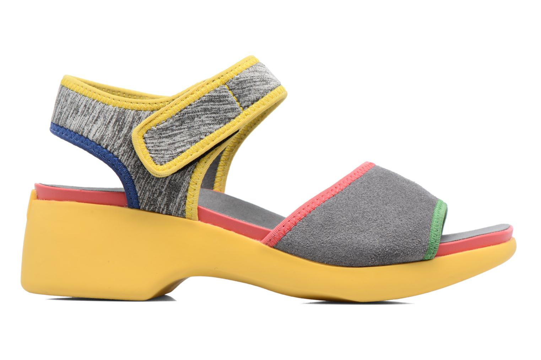Sandales et nu-pieds Camper Spark K200454 Gris vue derrière