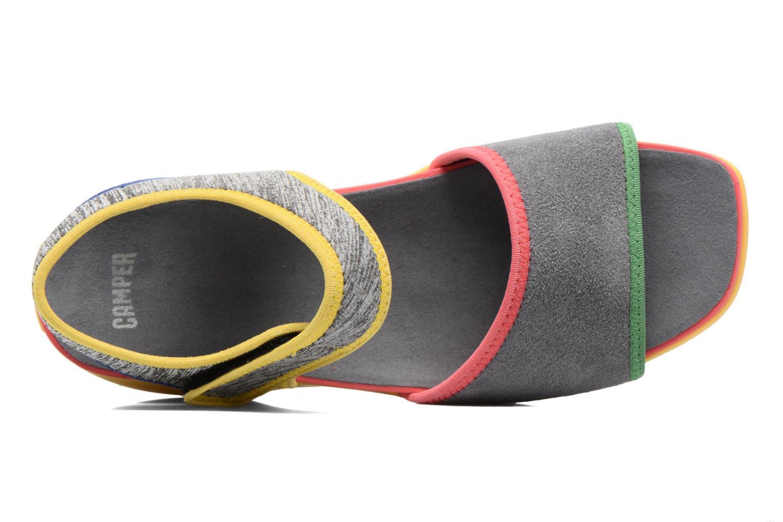 Sandales et nu-pieds Camper Spark K200454 Gris vue gauche
