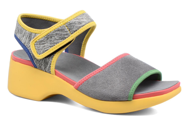 Sandales et nu-pieds Camper Spark K200454 Gris vue détail/paire