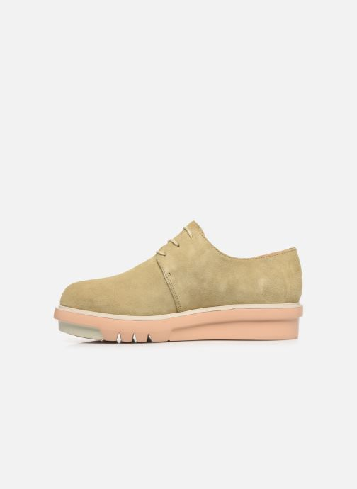 Chaussures à lacets Camper Marta K200114 Beige vue face