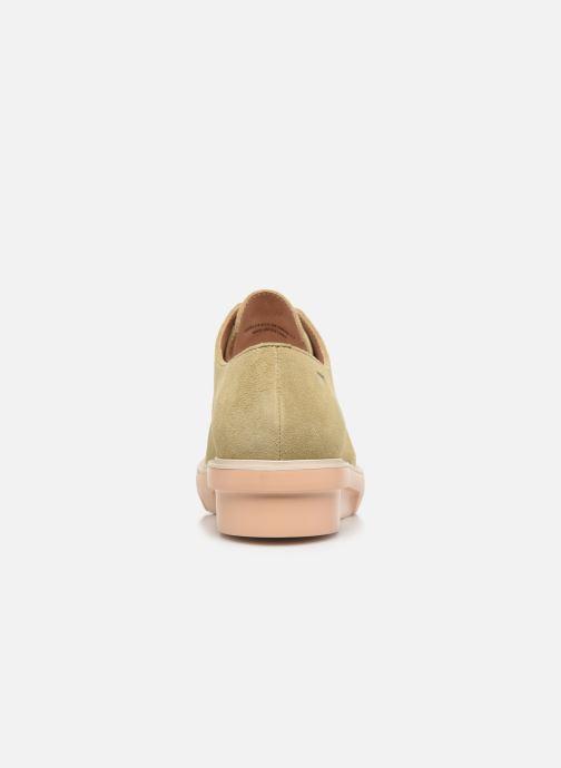 Chaussures à lacets Camper Marta K200114 Beige vue droite
