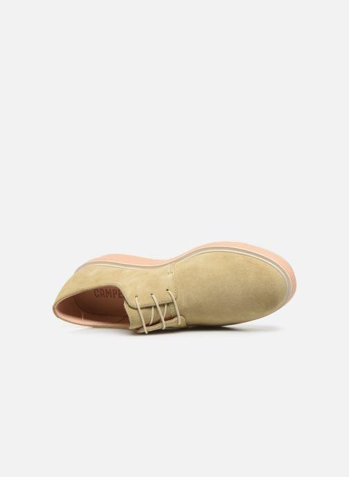 Chaussures à lacets Camper Marta K200114 Beige vue gauche