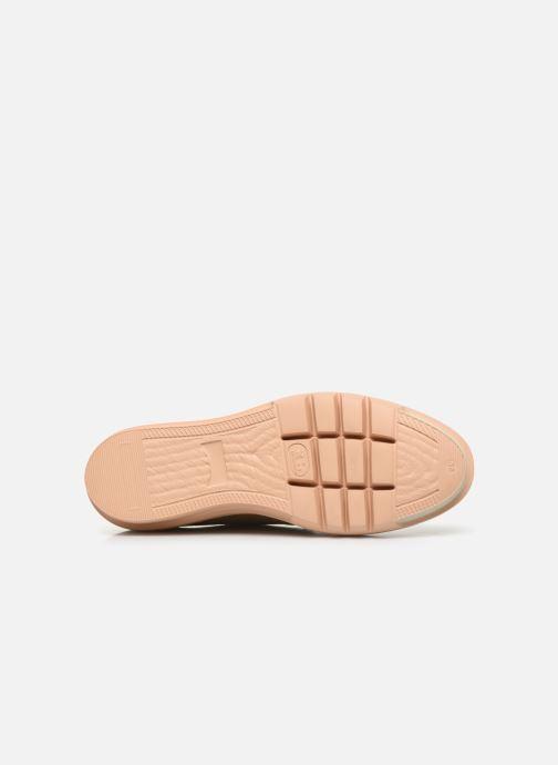 Chaussures à lacets Camper Marta K200114 Beige vue haut
