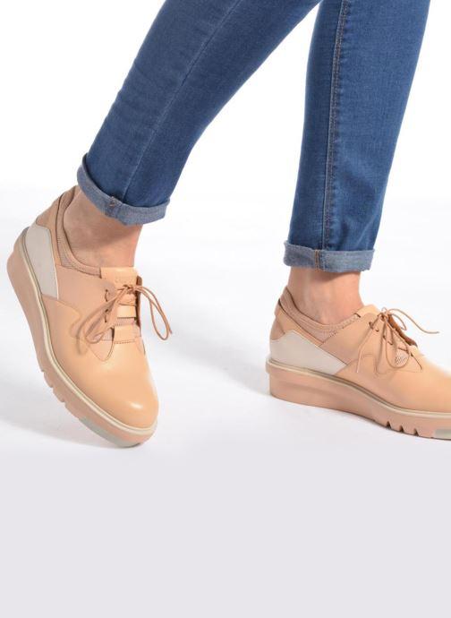 Chaussures à lacets Camper Marta K200334 Multicolore vue bas / vue portée sac