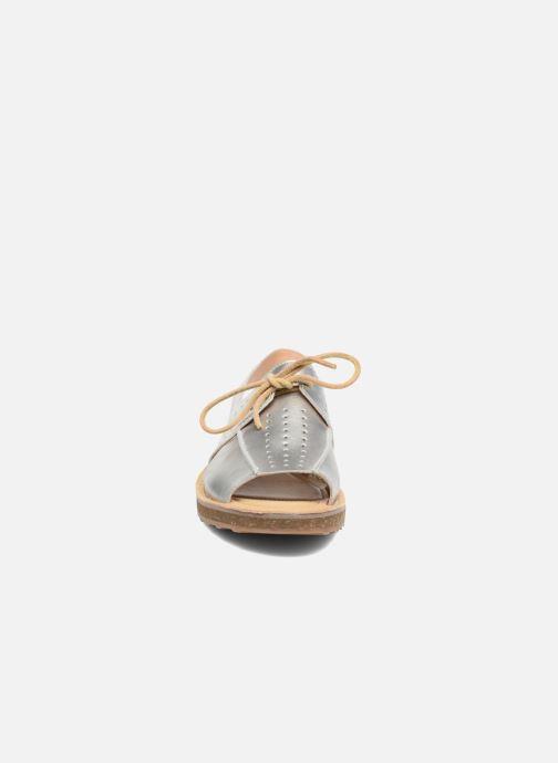 Sandalen Camper Tws K200381 silber schuhe getragen