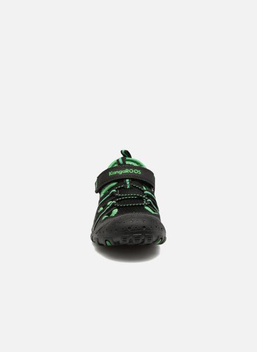 Chaussures de sport Kangaroos KangaSpeed X4 Noir vue portées chaussures