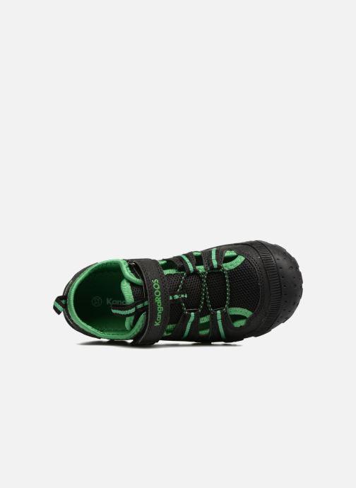 Chaussures de sport Kangaroos KangaSpeed X4 Noir vue gauche