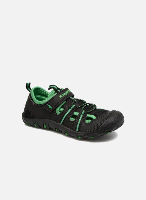 Chaussures de sport Kangaroos KangaSpeed X4 Noir vue détail/paire