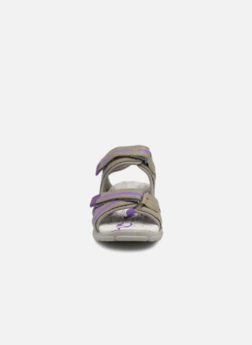 Sandales et nu-pieds Kangaroos Corgi 2 Violet vue portées chaussures