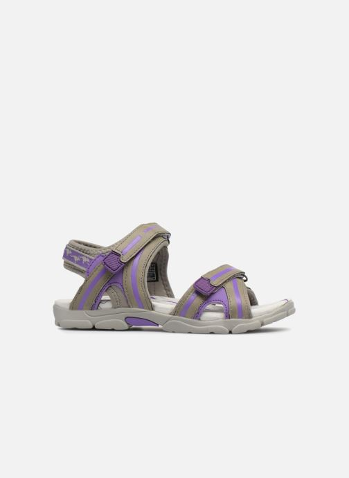 Sandales et nu-pieds Kangaroos Corgi 2 Violet vue derrière