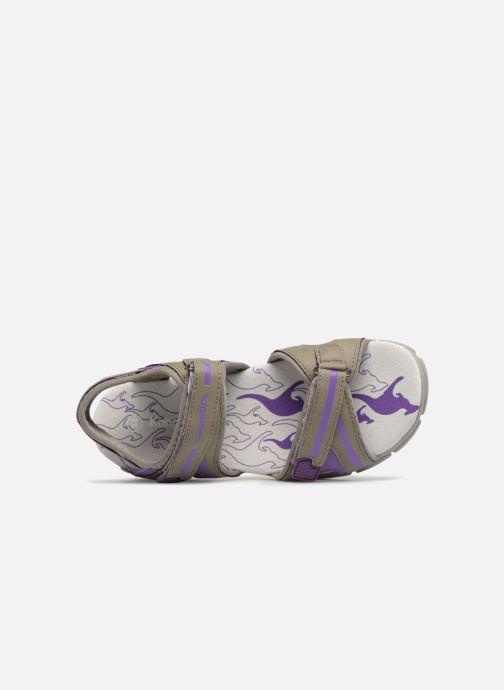Sandales et nu-pieds Kangaroos Corgi 2 Violet vue gauche