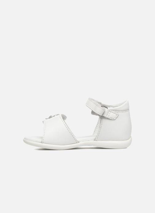 Sandales et nu-pieds Mod8 Grama Blanc vue face