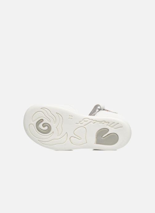 Sandales et nu-pieds Mod8 Grama Blanc vue haut