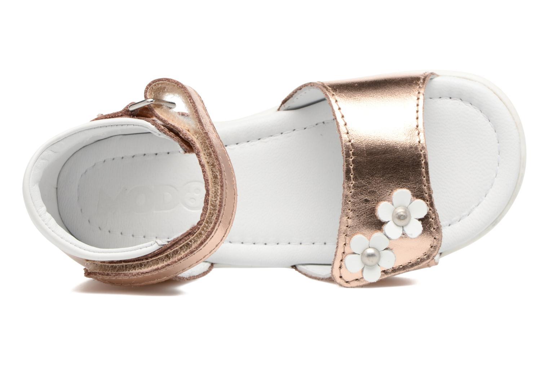 Sandales et nu-pieds Mod8 Grama Rose vue gauche