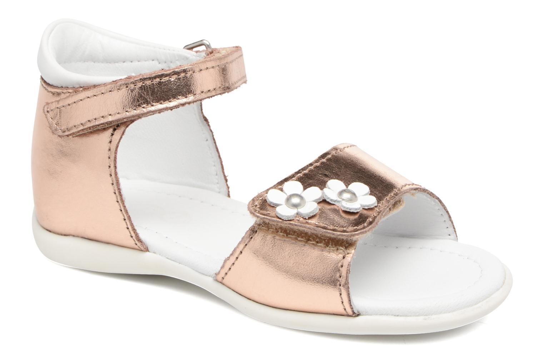 Sandales et nu-pieds Mod8 Grama Rose vue détail/paire