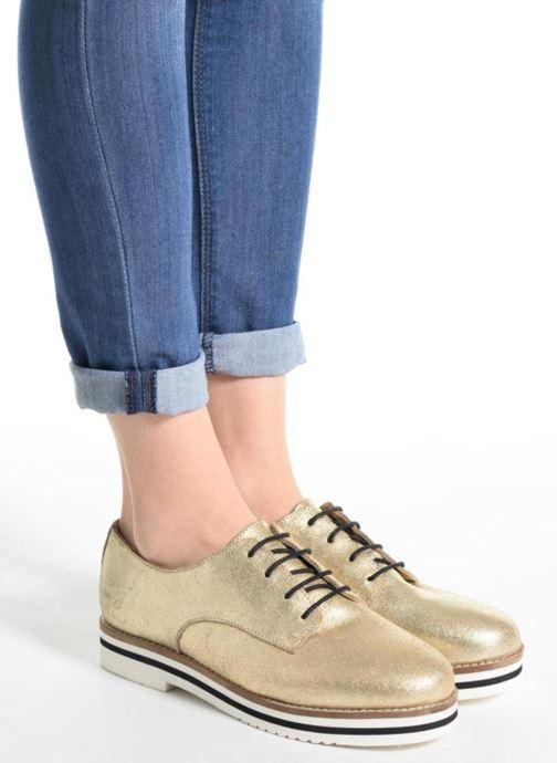 Chaussures à lacets Coolway Avocado Argent vue bas / vue portée sac
