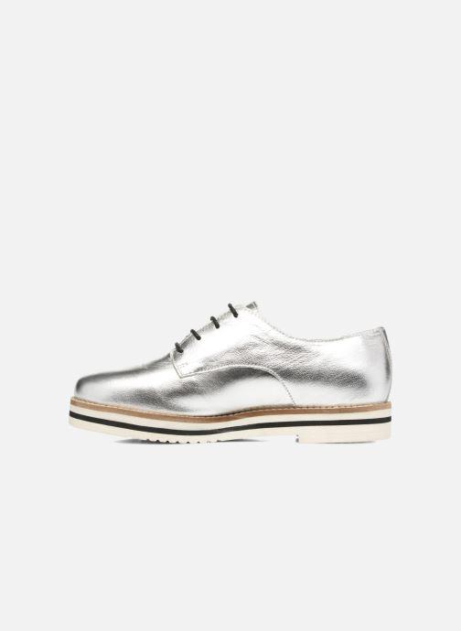 Chaussures à lacets Coolway Avocado Argent vue face