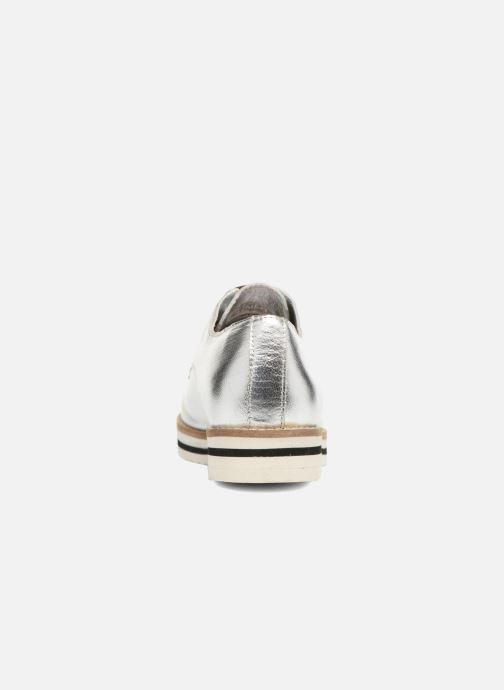Chaussures à lacets Coolway Avocado Argent vue droite