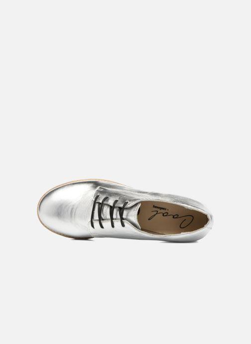 Chaussures à lacets Coolway Avocado Argent vue gauche